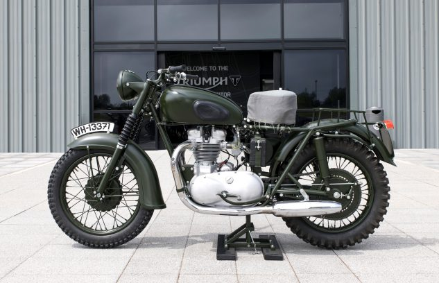 Motorcycle from the Great Escape