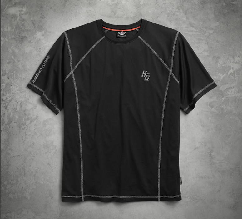 710b3c2ae98e Visit a local dealer and check out the Men's Performance Tee (P/N  99004-17VM, $65), the Men's Performance Long Sleeve Tee (P/N 99005-17VM,  $70) or the Men's ...