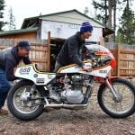 Vodka-Powered XS650 Racer Off to Bonneville