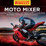 Pirelli Moto Mixer, Sept. 8, P Zero World, L.A.