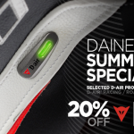 Dainese D-air now 20% OFF | USA Only