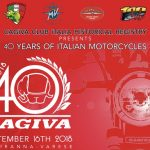 Cagiva 40 years of Italian motorcycles Celebration in Varese