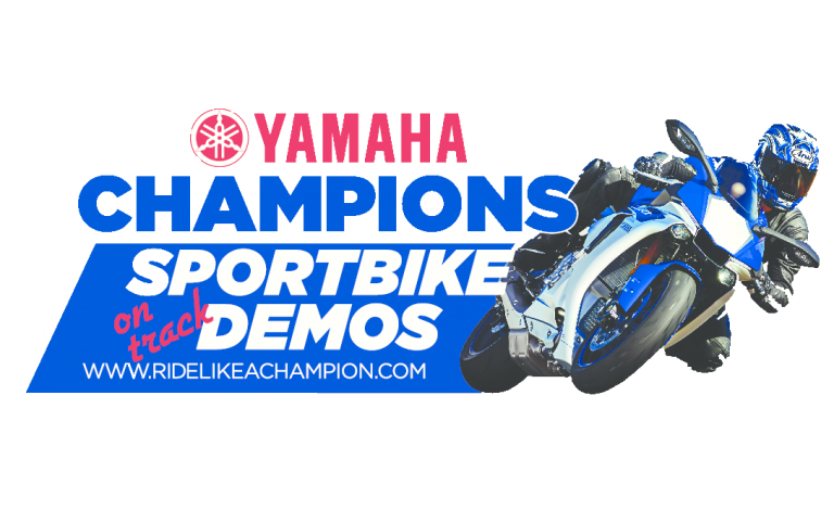 Yamaha Champions Riding School Will Have Demos At Let's Ride Trackday March 22