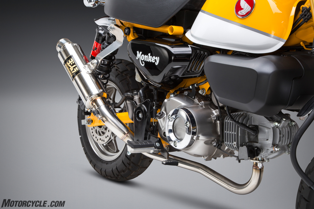 Yoshimura Releases A Series Of New Exhausts For The Honda Monkey
