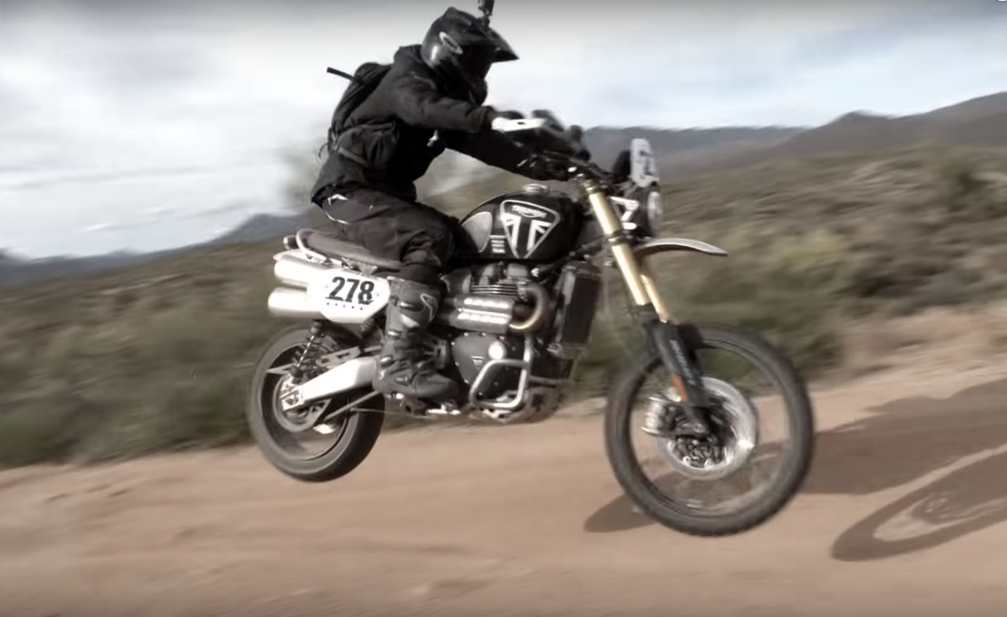 Ernie Vigil Finishes 5th At Mexican 1000 Rally Aboard Triumph Scrambler 1200 XE - Motorcycle.com News