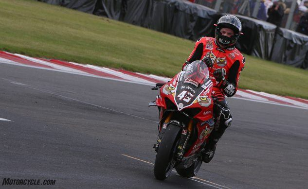 Scott Redding to join Chaz Davies on the factory Panigale V4