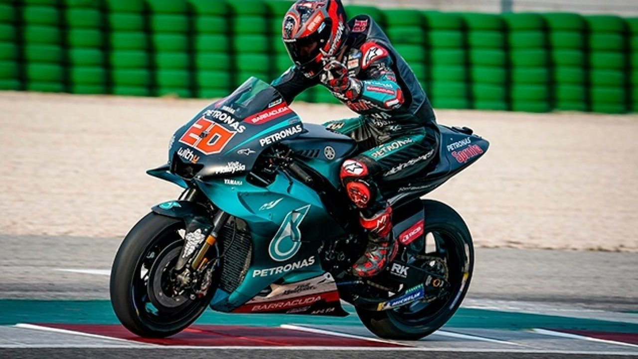 Yamaha Motor Racing Signs Quartararo To 2021 2022 Rider Line Up Hints At Rossi S Future Plans Motorcycle Com News