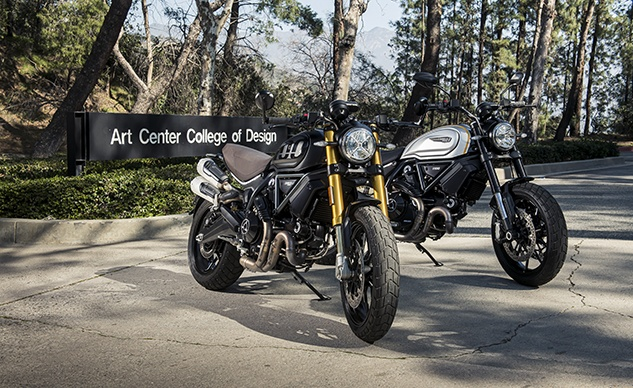Ducati Scrambler 1100 PRO Focus Of Master Class At ArtCenter College