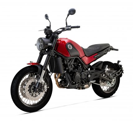 LEONCINO 500 TRAIL RED 135CW