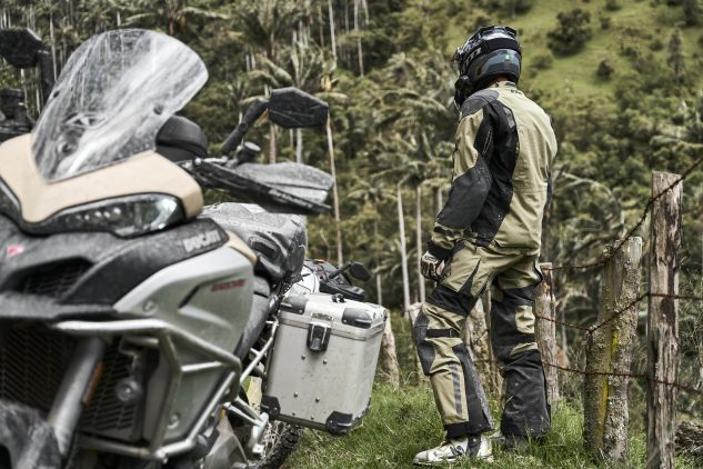 KLIM badlands pro a3 in action